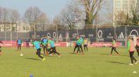 Feyenoord antremanında şok kavga!