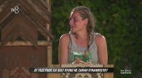 Survivor'da Sahra verdiği cevapla herkesi şoke etti!