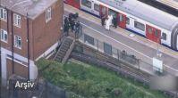 Londra metrosunda patlama (Arşiv)