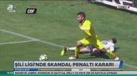 Şili Ligi'nde skandal penaltı kararı