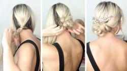 5 dakikada yapabileceğiniz saç modelleri