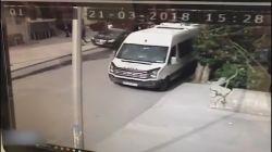 Esenyurt'ta silahlı saldırı kamerada