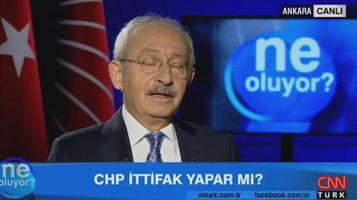 Kılıçdaroğlu'ndan canlı yayında ittifak açıklaması