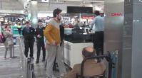 F.Bahçe ve Beşiktaş'ta oynamıştı... Şimdi havalimanında yaşıyor