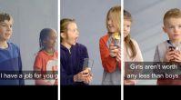 Çocukların gözünden maaş eşitsizliği