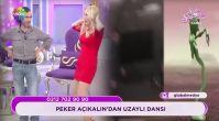 Seda Sayan ve Peker Açıkalın'dan yeşil uzaylı dansı!