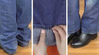 Kolay pantolon paçası kısaltma