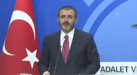 AK Parti Genel Başkan Yardımcısı ve Parti Sözcüsü Mahir Ünal, basın toplantısı düzenledi