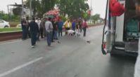 Otomobilin çarptığı motosikletin sürücüsü öldü