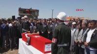 Hatay şehidi asker, Bismil'de toprağa verildi