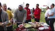 Trabzonspor barbekü partisinde stres attı