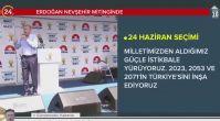 Cumhurbaşkanı Erdoğan'dan Nevşehir'de flaş açıklamalar