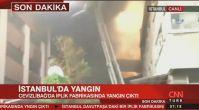 Son dakika İstanbul Davutpaşa'da yangın! Dumanlar her yerden görünüyor