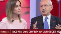 Kılıçdaroğlu Muharrem İnce'nin oy oranını açıkladı