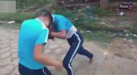 Bıçaklı kız kavgası pes dedirtti!