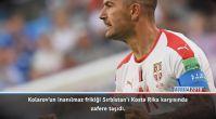 Maç Raporu: Kosta Rika 0-1 Sırbistan