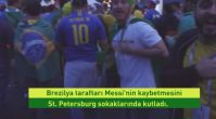 Messi kaybetti, Brezilyalılar sevindi