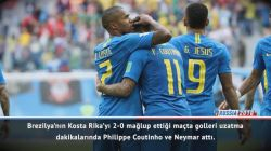 Maç Raporu: Brezilya 2-0 Kosta Rika
