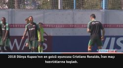 Ronaldo hazırlıklara başladı