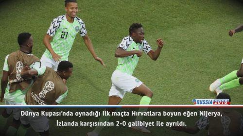 Maç Raporu: Nijerya 2-0 İzlanda