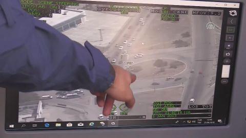 İnsansız hava aracı Çağatay trafik denetimine katıldı