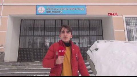 Karlıova Haberleri: Karlıovada 18 gün sonra eğitim yeniden başladı